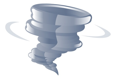 cyclone: Weather icon clipart tornado cyclone illustration Illustration