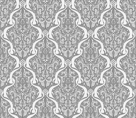 moresque: Intricate seamlessly tilable repeating Middle Eastern Arabic background pattern