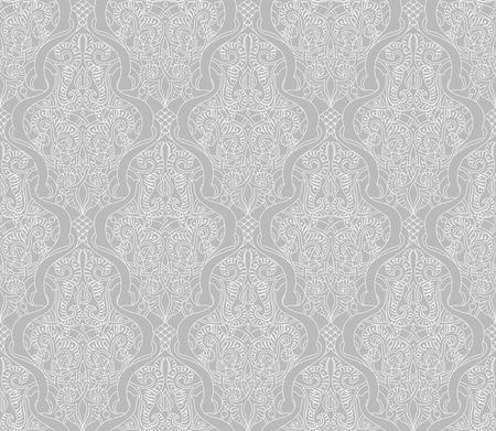 tilable: Illustrazione di un intricato senza soluzione di tilable ripetendo modello d'epoca islamica motivo
