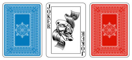 Cards from the Georghiou 14 deck, a beautifully crafted new original playing card deck design. The deck features custom extremely detailed court cards with the appropriate suit symbol worked into the garb of the Jack, Queen and King characters in multiple Vector