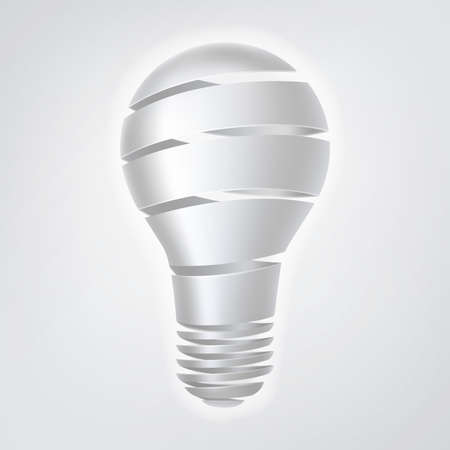 coming up with: A Light bulb infographic concept. Metaphor for brainstorming or coming up with an idea, or research and development