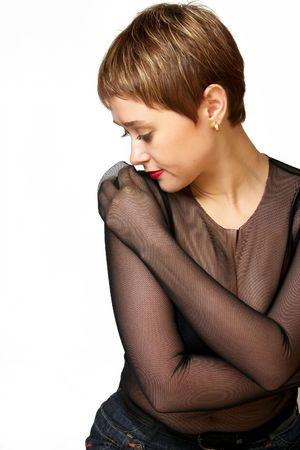 Beautiful young woman. photo
