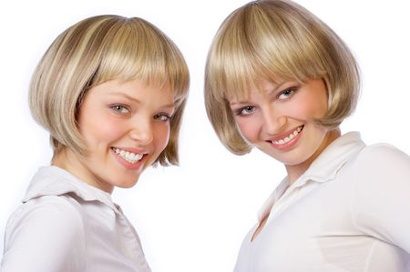sissy: twin girls