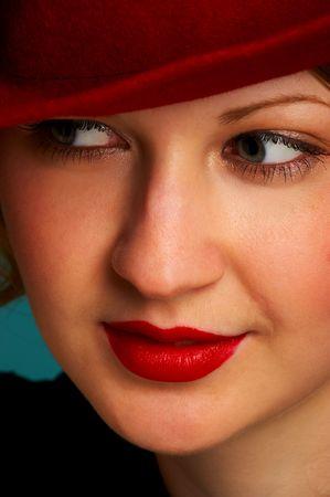 Pretty woman face Stock Photo - 407190