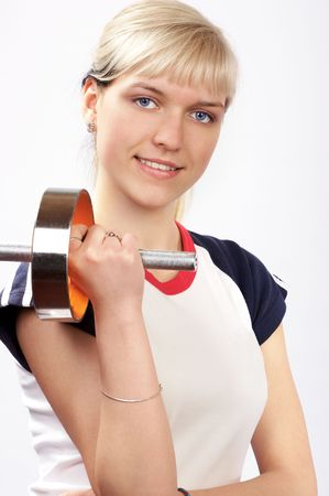 Young fitness woman Stock Photo - 407277
