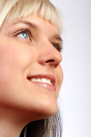 Close-up of a beautiful face Stock Photo - 490727