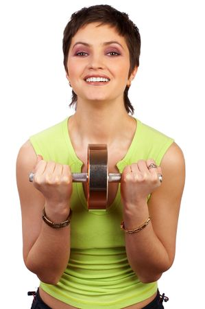 openly: Fitness woman Stock Photo
