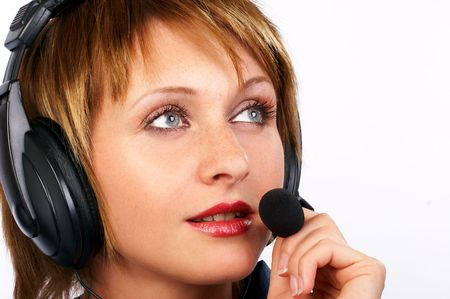 CUSTOMER SERVICE AGENT LOOKING TO THE FUTURE photo