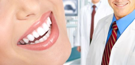Beautiful  woman teeth. Dentists Stock Photo - 5763588