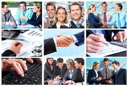 customer: Business people. Business team. Teamwork Stock Photo