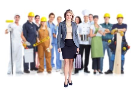 werk: Zakelijke mensen team