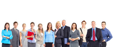 large group of business people: Business people team
