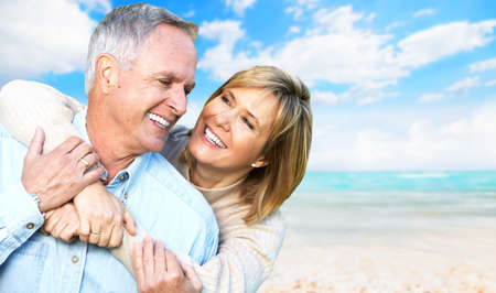 healthy seniors: Happy retired couple