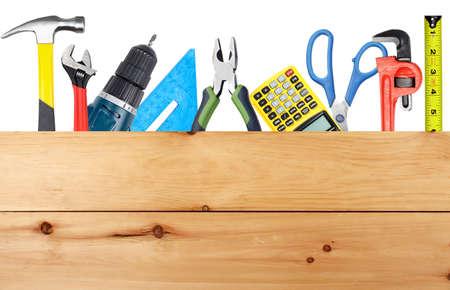 renovations: DIY tools and wood