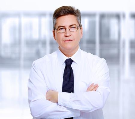 business men: Portrait of handsome business man