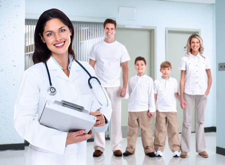 professional practice: Family Doctor woman