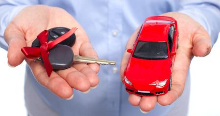 Car keys. Auto dealership and rental concept background. photo