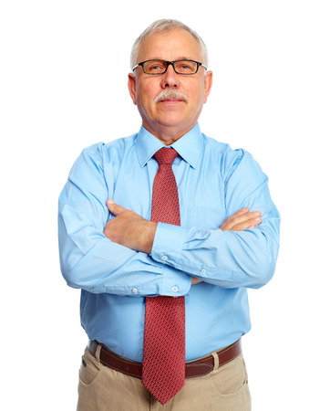 Portrait of mature Businessman  photo