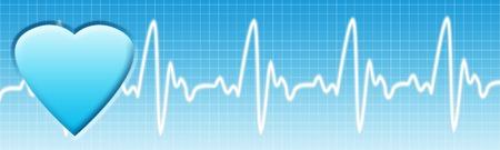 醫療保健: 保健背景。醫療保健藍色旗幟COPYSPACE。 版權商用圖片