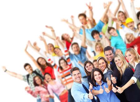 úspěšný: Skupina pracovníků lidí