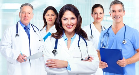 medical professional: Medical doctors team