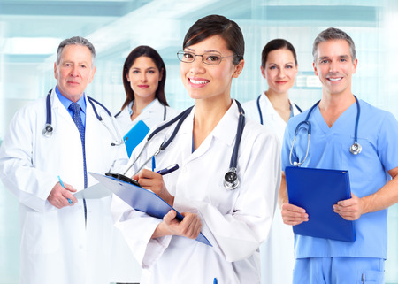 Group of doctors  photo