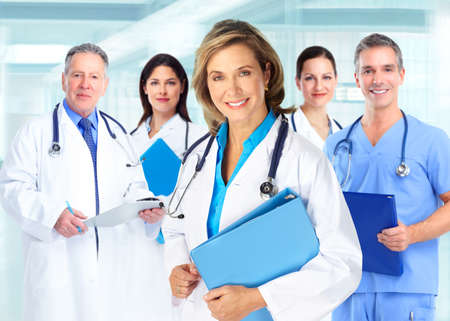 Medical doctors team photo