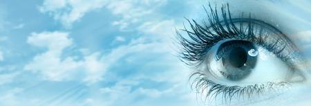 human eye: Human eye Stock Photo