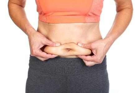 Body fat. photo