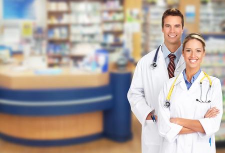 醫療保健: 藥師在藥店