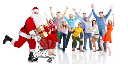 happy christmas: Happy christmas people group