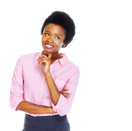 diversity people: Young african business woman