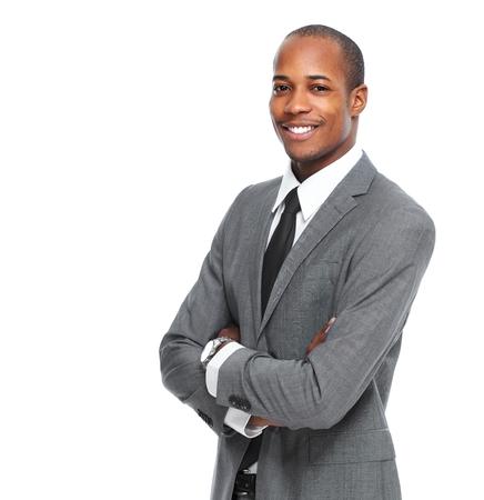 africanamerican: Stylish African-American black man Stock Photo