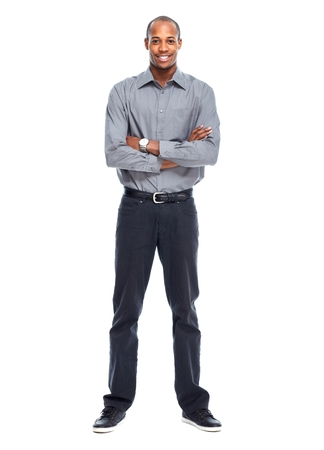 african businessman: African American businessman Stock Photo