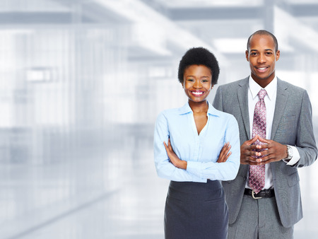 afro american: Business team.