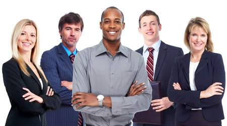 casual business: Business team.