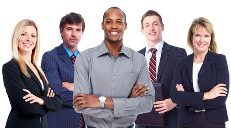 business diversity: Business team.