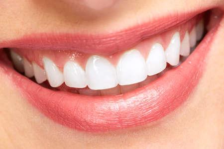 odontologia: Sonrisa.  Foto de archivo