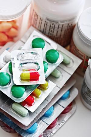 pilule: Píldoras médicas. Foto de archivo
