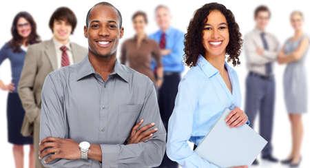 reuniones empresariales: Equipo de personas de negocios. Foto de archivo