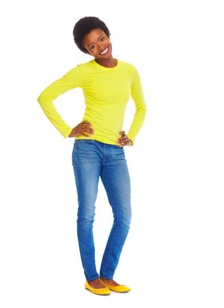black girl: Studentische Frau Lizenzfreie Bilder