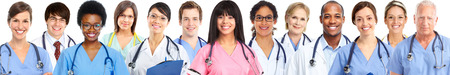 medical doctors: Group of medical doctors