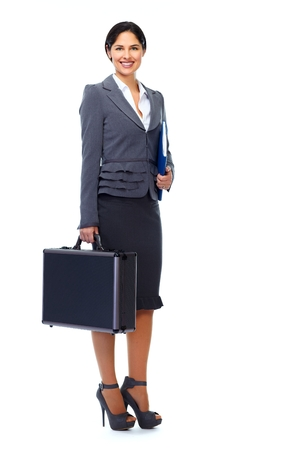 Young business woman. photo