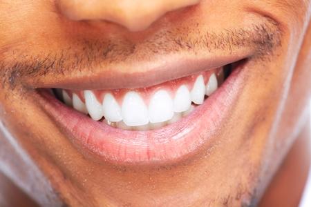 cerrar: Sonrisa.  Foto de archivo