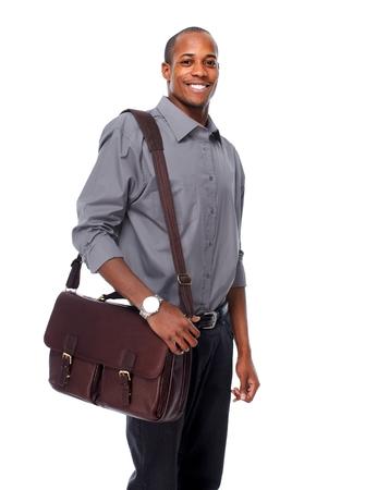 africanamerican: Friendly African-American man