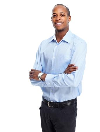 africanamerican: Stylish African-American businessman