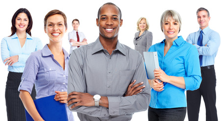 team business: Business people team. Stock Photo