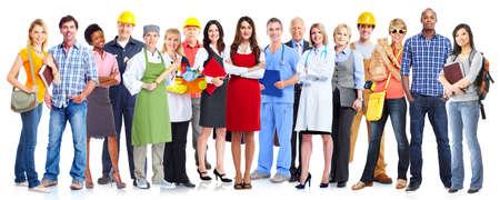 Grupo de personas de los trabajadores.