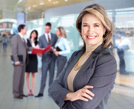 businesswomen: Business team.