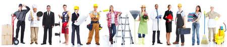 gardener: Group of workers people.